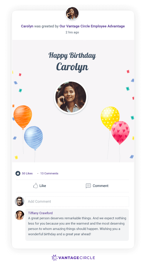 birthday-wishes-for-employees-Vantage-Circle-Platform