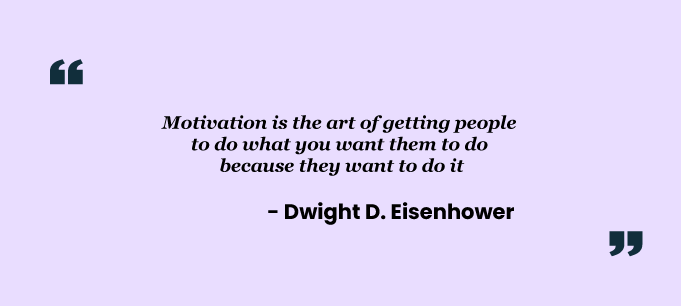 Quote on Extrinsic motivation