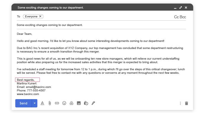 email-etiquette-regards