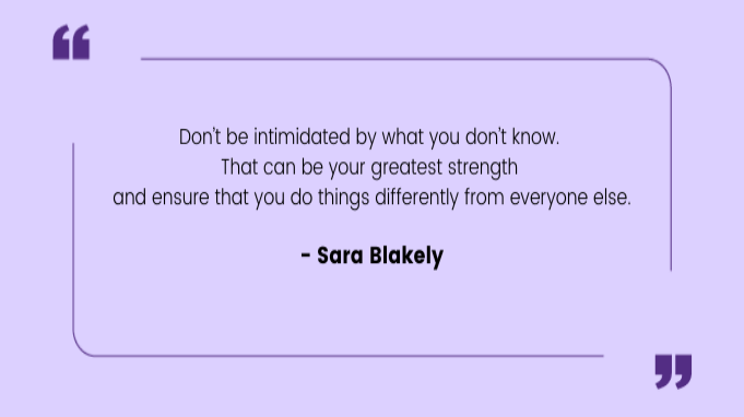 Quotes by Women Sara Blakely