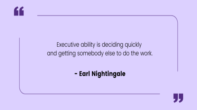 Funny work quotes by Earl Nightingale