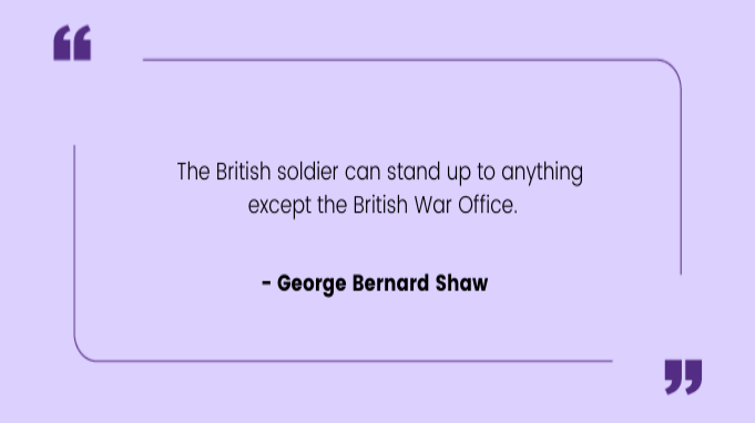 Funny work quotes by George Bernard Shaw