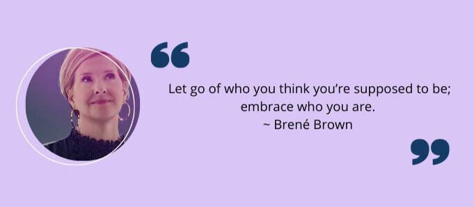 Go-Getter Quotes by Brené Brown