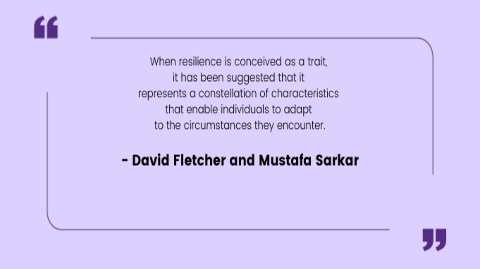 Resilience Quotes by David and Mustafa