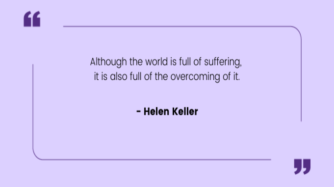 Resilience Quotes by Hellen Keller