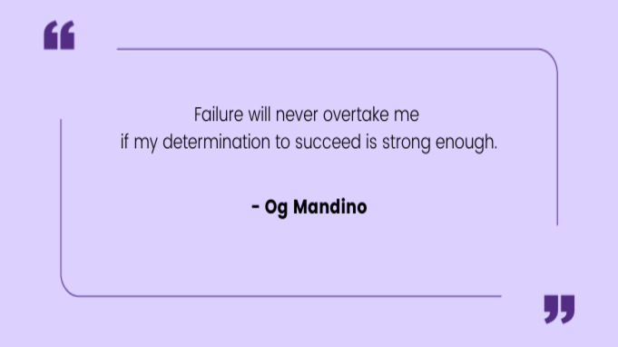 Resilience Quotes by Og Mandino