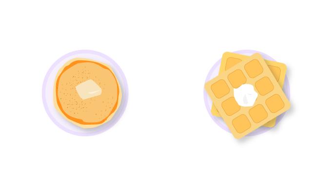 Zoom-icebreakers-Waffles-vs.-Pancakes-